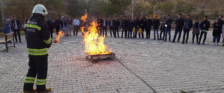 Yangın Eğitimi (Oltu MYO)