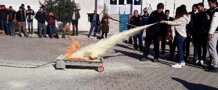 Yangın Eğitimi (Horasan)