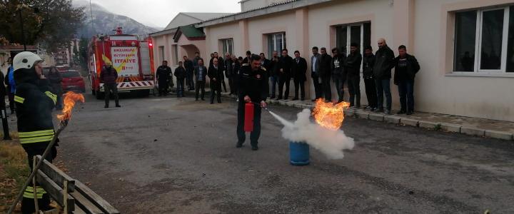 Yangın Eğitimi (İspir)