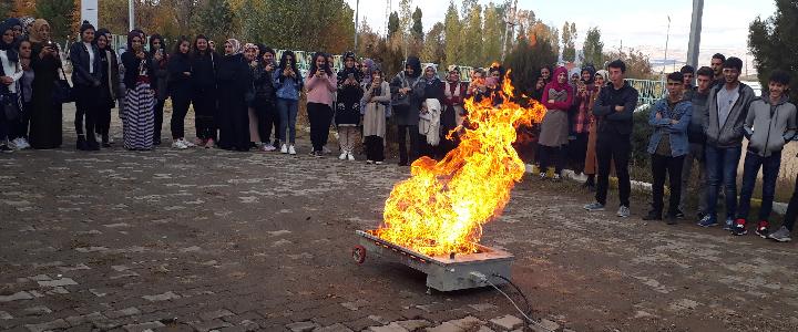 Yangın Eğitimi (Hınıs)