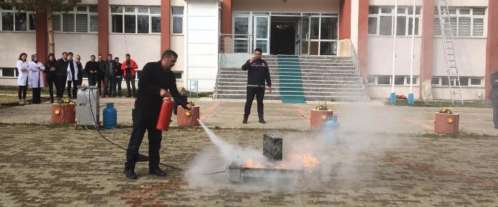 Yangın Eğitimi (Narman)