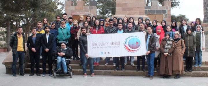 Türk Dünyası Kulübü Tabyalarda